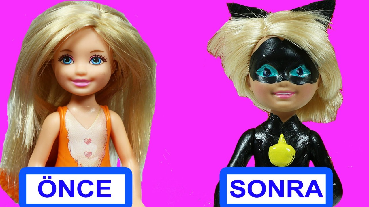 Barbie Chelsea Den Kara Kedi Yapimi Nasil Yapilir Evciliktv