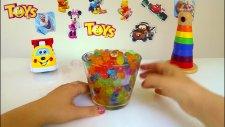 Orbeez Su Maymunu Sürpriz Hediye Kovası! Orbeez Hide and Seek! LEGO Figures FROZEN  Minişler