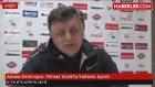 Ptt 1. Lig Ekiplerinden Adana Demirspor, Yılmaz Vural'la Yollarını Ayırdı
