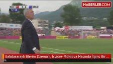 Galatasaraylı Blerim Dzemaili, İsviçre-Moldova Maçında İlginç Bir Gol Attı