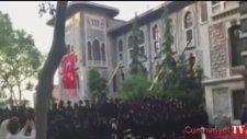 İstanbul Erkek Lisesi'ndeki Tarihi Protesto