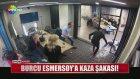 Burcu Esmersoy'a Kamera Şakası!