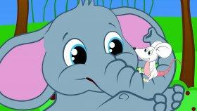 Fil ile Fare | Bebek Şarkıları | Çocuk Şarkıları 2016 | Sevimli Dostlar | Adisebaba Tv