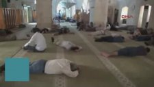 Şanlıurfa'da Camilerde Ramazan Uykusu