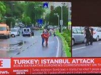 Euronews Muhabirlerinin Patlama Sevinci