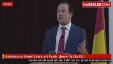 Galatasaray Genel Sekreteri F. İşbecer İstifa Etti