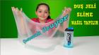 Duş Jeli İle Slime Yapmı Kocaman Esnek Slime  | DIY Kendin Yap