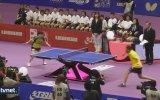 Engelli Adamdan Masa Tenisi Performansı