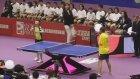 İki Kolu Olmayan Adam Masa Tenisi Şovu Yaptı!
