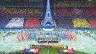 Fransa - Romanya Maçı Öncesi Yapılan Koreografi
