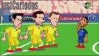 Fransa - Romanya Maçı Animasyon Oldu