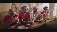 Hırvatlar'ın Türkiye-Hırvatistan Maçı için Reklamı