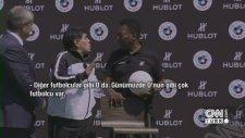 Pele ve Maradona'nın Messi Dedikodusu
