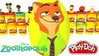Zootropolis Hayvanlar Şehri Nick Wilde Sürpriz Yumurta Oyun Hamuru - Karlar Ülkesi LPS MLP