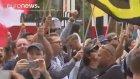 Avusturya'da Göçmen Karşıtı Protesto