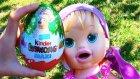 Baby Alive Maya Bahçede Sürpriz Yumurta Açıyor