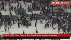 EURO 2016 Maçı Öncesi Rus Taraftarlar İngiliz Seyirciye Saldırdı