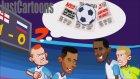 İngiltere - Rusya Maçı Animasyon Film Oldu