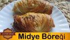 Yeşil Mercimekli Midye Börek Tarifi | Midye Böreği Tarifi - Leziz Yemek Tarifleri