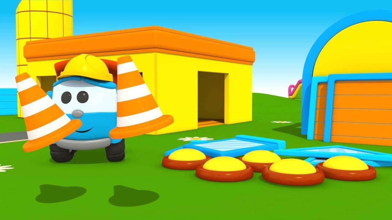 Leo Junior Leoya Yeni Bir Ev Yapıyoruz Eğitici çizgi Film