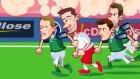 Polonya - Kuzey İrlanda Maçı Animasyon Film Oldu