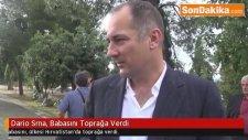 Hırvatistan Kaptanı  Dario Srna, Babasını Toprağa Verdi