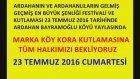 Marka Köy Kora Kutlaması ve Ardahanın Gelmiş Geçmiş En Büyük Festivali