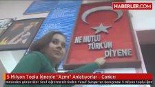 5 Milyon Toplu İğne İle Atatürk Portresi Yaptılar