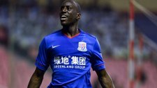 Demba Ba'nın Hebei Chine Fortune'ye attığı gol.