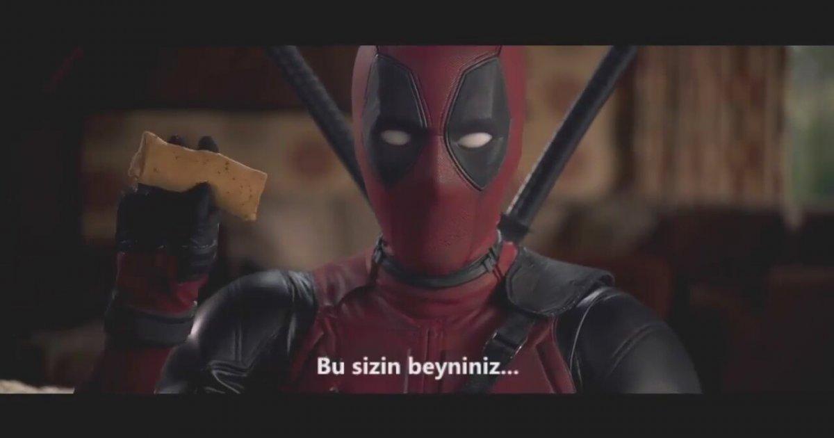 Deadpool imax fragman t rk e dublaj hd for What are the showtimes for deadpool