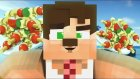 Minecraftta Yabancıları Türk Kebabı Yaptırdık ! (Trol) - Minecraft Evi