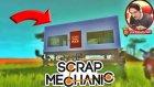 Yürüyen Ev Yaptık | Scrap Mechanic Türkçe Multiplayer | Bölüm 15 - Oyun Portal