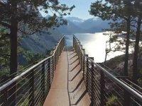 Norveç'in Doğal Güzelliklerine Açılan Cennet Manzaralı Köprü