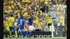 İtalya - İsveç Maçından Çok Özel Fotoğraflar!