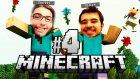Nereye Gidiyoruz Olum ? | Minecraft W/ Azelza #4 - Necatiakcay