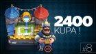 2400 Kupa Ve Yeni Deste! Clash Royale#8 - Necatiakcay