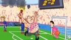 Hırvatistan - Çek Cumhuriyeti maçı animasyon film oldu