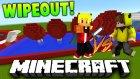 Minecraft 1v1 Gerçekci Wipeout Yarışı! W/tto