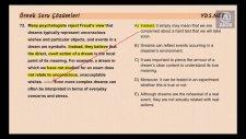 Yds Paragraf Tamamlama Sorusu, 2014 Nisan Yds, Ahmet Akın - İngilizce Öğreniyorum