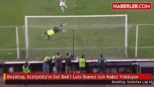 Beşiktaş, Kızılyıldız'ın Sol Bek'i Luis İbanez İçin Nabız Yokluyor