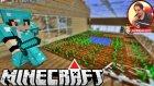 Cam Sera Yaptık | Minecraft Türkçe Gizemli Dağ | Bölüm 4