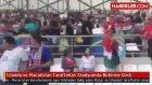 İzlanda ve Macaristan Taraftarları Stadyumda Birbirine Girdi