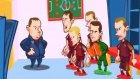 Galler - Rusya maçı animasyon film oldu
