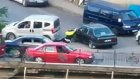 Hatalı Şoför Aracını Trafik Polisinin Üstüne Sürdü