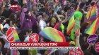 ONURSUZLAR LGBTİ İBNELERİN YÜRÜYÜŞÜNE TÜRK KÜRT HALKI TEPKİ GÖSTERİYOR DİNSİZLEŞMEYİN TEVBE EDİN