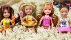 Barbie ve Ailesi Ceren'in Plaj Keyfi | Barbie Oyunları | Evcilik TV