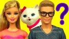 Barbie'nin Kedisi Kayboluyor! - 1. Bölüm - Apple White Ve Ken Blissa'yı Arıyor!