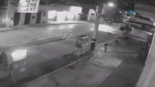 Brezilya'da Pompacı Soyguncuyu Yaktı