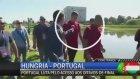 Ronaldo Soru Soran Muhabirin Mikrofonunu Göle Attı