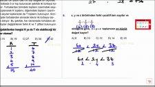 Temel Kavramlar Soru Çözümü-DGS Matematik Çıkmış Soru Çözümleri 01